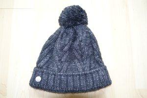 Bogner Fire + Ice Cappello a maglia antracite-grigio chiaro