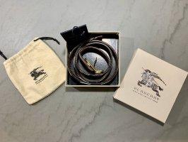Burberry Cintura di pelle multicolore Pelle