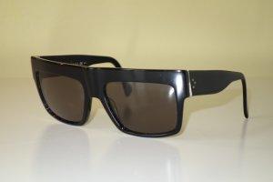Celine Occhiale da sole spigoloso nero
