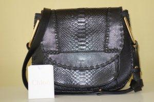 Org CHLOE Hudson Python Bag in schwarz sold out top