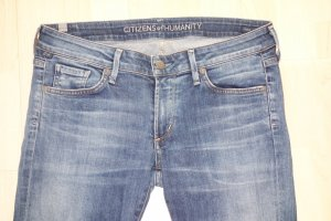 """Org. CITIZENS OF HUMANITY """"Racer"""" skinny Jeans mit distressed Details Gr.30"""