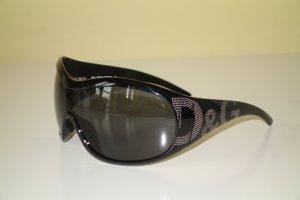 Org. D&G Dolce & Gabbana oversized Sonnenbrille mit Nieten NEU inkl. Etui
