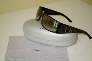 Dior Angular Shaped Sunglasses dark brown