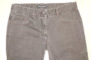Org. DOLCE & GABBANA black label skinny Jeans in graubraun Gr.36
