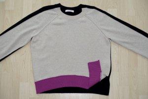 Org. DOROTHEE SCHUMACHER Pullover aus Wolle/Kaschmir mit Details Gr.40
