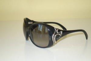 Org. EMILIO PUCCI oversized Sonnenbrille mit silbernen Details top
