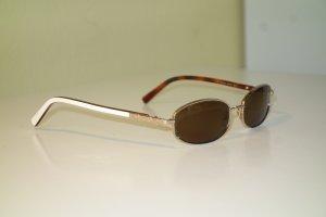 Escada Gafas Retro crema-color bronce