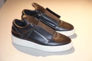Org. FILLING PIECES Sneaker aus Leder in schwarz Gr.40 NEU