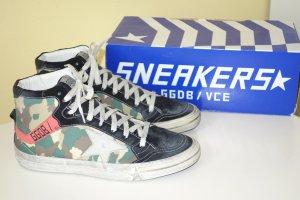 Org. GOLDEN GOOSE 2.12 Hightop Sneaker Camouflage NEU+Karton Gr.40