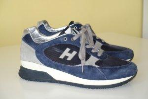 Org. HOGAN Sneaker in dunkelblau/grau/offwhite Gr.37,5