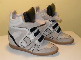 Org. ISABEL MARANT Beckett Sneaker in creme/grau Gr.39