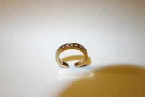 Org. ISABEL MARANT Ring mit Swarovski-Steinen gold