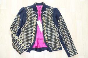 Org. LACONDESA Jacke mit goldenen Stickereien und Knöpfen Gr.38 NEU+Etikett