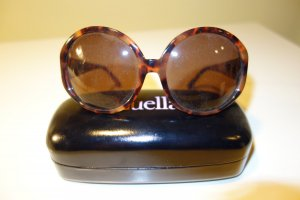 Linda farrow luxe Gafas de sol marrón-negro