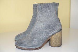 Org. MAISON MARGIELA Tabi Boots in vintage Look Veloursleder Gr.39