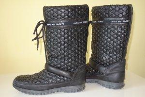 Org. MARC CAIN Sports Winter-Snow Boots aus Leder mit Noppen Gr.37