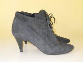 Org. PACO GIL Ankle Boots Gr.37 Velourleder