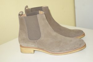 Pedro garcia Chelsea Boots grey brown leather