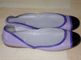 Org. PRADA Ballerinas lila/violett Gr.37,5