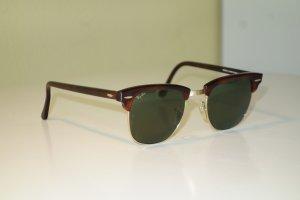 Rayban Gafas de sol cuadradas marrón-color oro