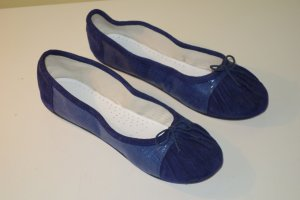 Org. REPETTO Paris Ballerinas in dunkelblau Gr.39