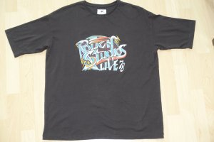 Org. ROUGH STUDIOS oversized Shirt mit Print Gr.S