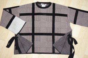 Org. SPORTMAX oversized Pullover mit Muster Gr.S NEU+Etikett