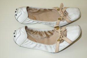 Org. TOD'S Ballerinas aus Leder Gr.37,5