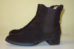 Org. TOD'S Chelsea Boots in dunkelbraun  Gr.37,5