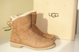 Org. UGG Lammfell Boots mit Schnürung Gr.39 inkl.Karton