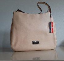 Orginal Pierre Cardin Handtasche, beige/schwarz,  Neu&Etikett!