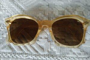 Unbekannte Marke Kwadratowe okulary przeciwsłoneczne nude