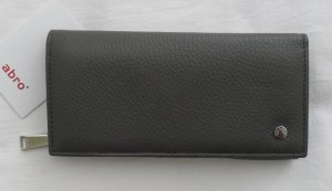 abro Wallet grey leather