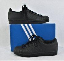 Adidas Originals Sznurowane trampki czarny Skóra