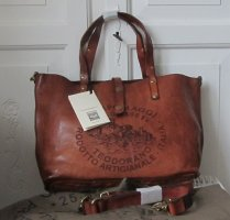 Campomaggi Shopper cognac-coloured leather
