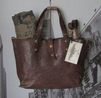 Campomaggi Shopper dark brown leather