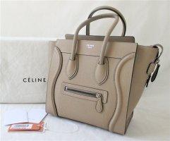 Celine Sac Baril beige-taupe cuir