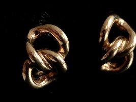 Orig. Christian Dior 18K gold vergoldet Clips Designer Ohrclips Ohrringe