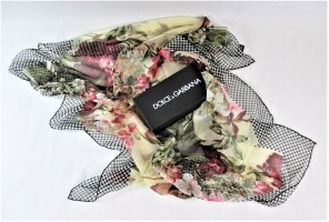 Dolce & Gabbana Silk Cloth multicolored silk