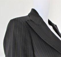 Dolce & Gabbana Korte blazer zwart-beige Wol