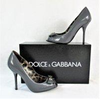 "Orig. Dolce & Gabbana ""Peeptoe Pumps/Kalbsleder /WIE NEU!"