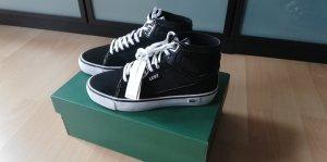 Orig. Lacoste Sport Vaultstar 37 / 4 Hightop Sneakers schwarz Lack