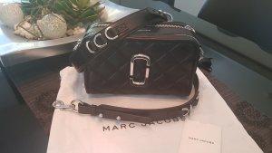 Orig. Marc Jacobs Handtasche, Umhängetasche , Tasche , Softshot 21, keine Snapshot, steppleder, schwarz, silberne Hardware