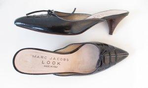 Orig. Marc Jacobs Pantoletten / Sandalen / Blau/Leder/Gr.37/Hervorragend!