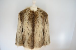 Orig. PRADA Runway Kollektion Couture Pelz Mantel Jacke IT 42 D 36