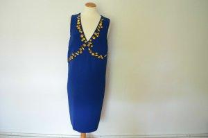 Prada Evening Dress blue viscose