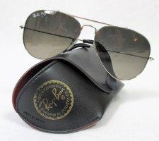 Orig.  Ray-Ban Sonnenbrille Aviator/Polarized/Metal/ Silber/Grau/Gr. 58/RB3025/wie NEU!