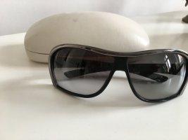 Stella McCartney Aviator Glasses black-silver-colored metal