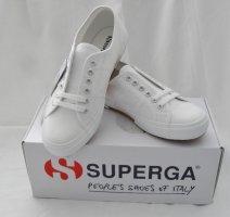 orig. Superga Sneaker Gr. 40 weiß NEU mit Etikett + Karton