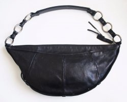 Orig. Tom Ford for YSL Yves Saint Laurent Halbmond Ledertasche Handtasche Tasche Beutel Beuteltasche